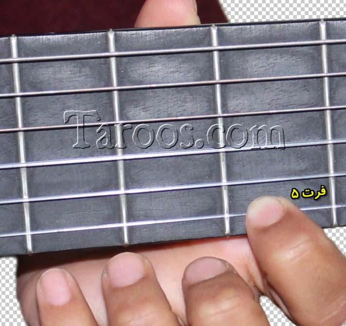 آموزش گیتار جلسه دوم - فرت 5