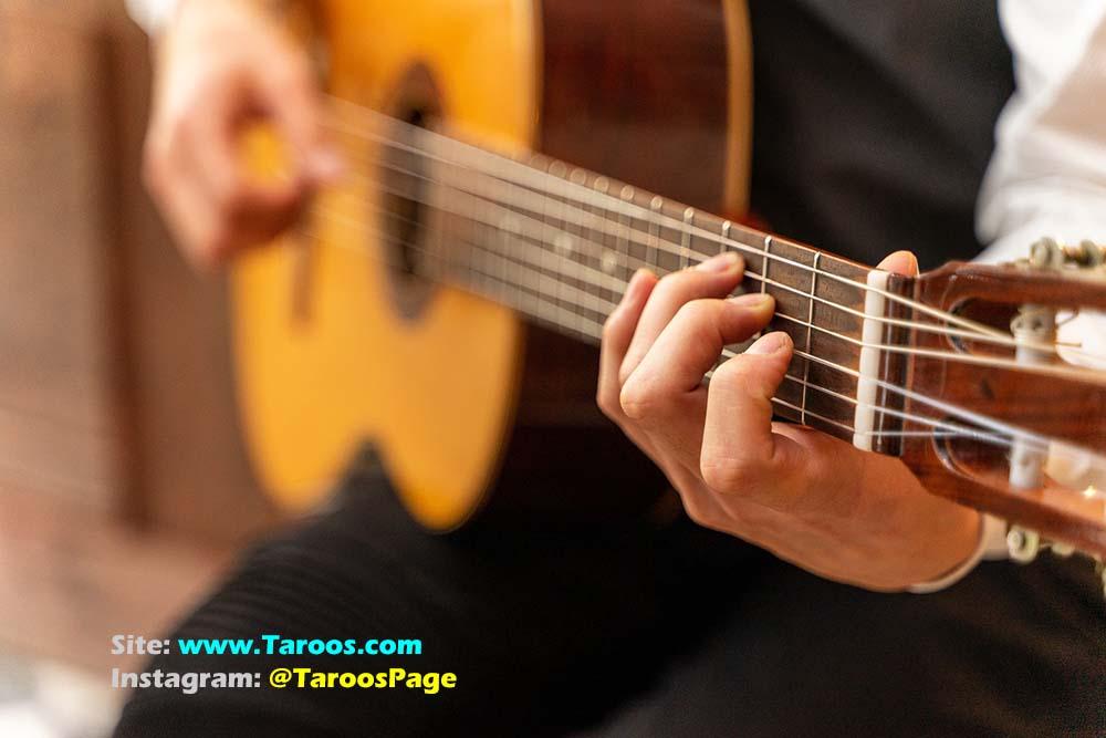 آموزش گیتار جلسه چهارم
