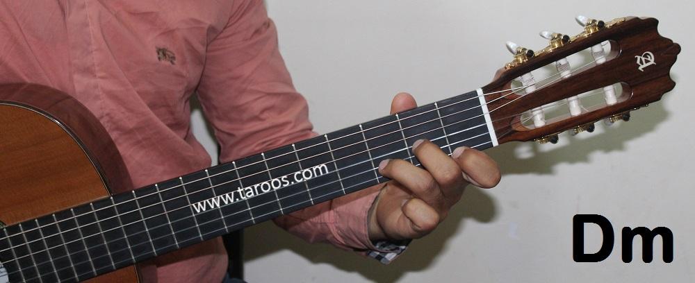 آموزش گیتار جلسه 6 | آکورد Dm گیتار