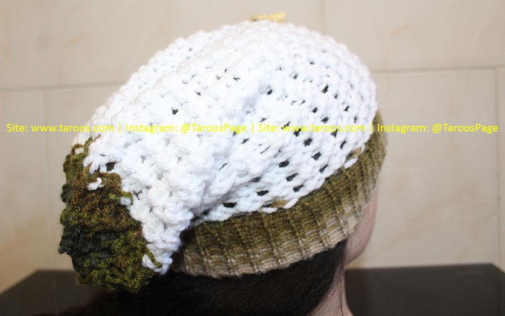 کلاه بافتنی دخترانه طرح گیتار برای زمستان (کیفیت بالا + قیمت رقابتی)